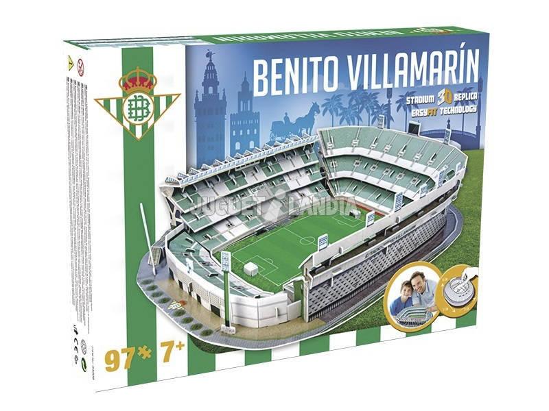 Nanostad Estadio 3D Benito Villamarín Giochi Preziosi GPH34006
