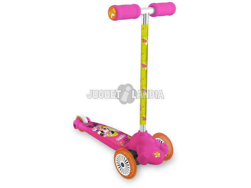 Patinete 3 Ruedas Twist And Roll Minnie