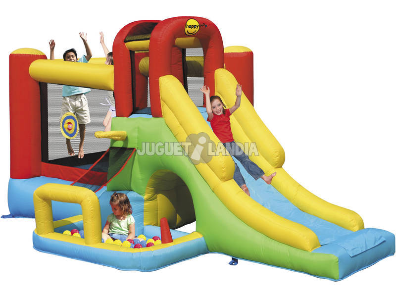 Castillo Hinchable Adventure Combo 400x275x200 cm.
