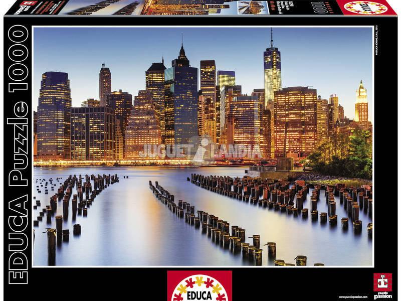 Puzzle 1000 Cidade dos Arranha - céus