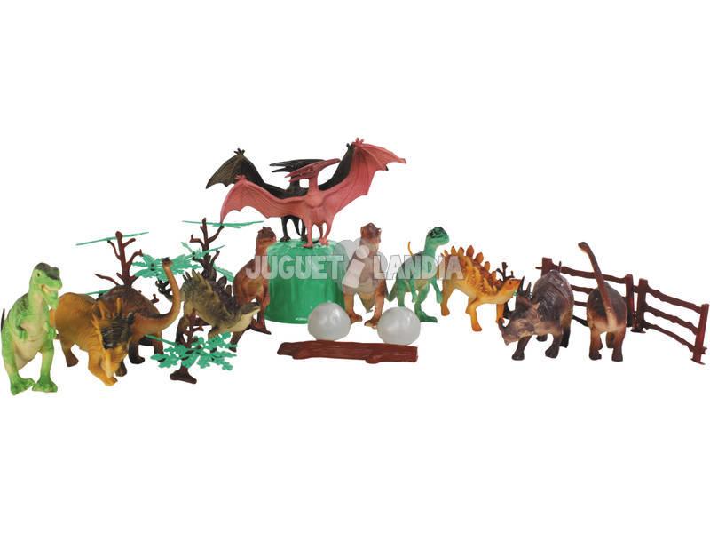 Set 12 Dinossauros com Acess