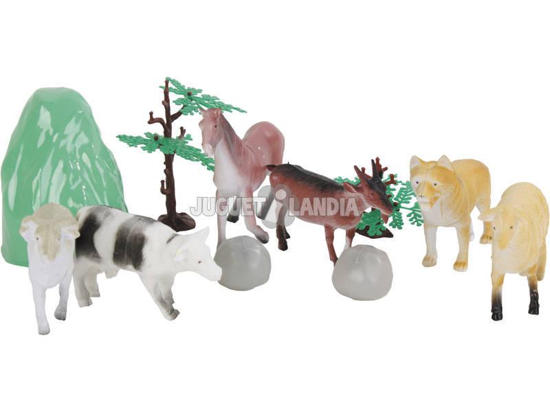 Set 6 Animali fattoria Confezione Papera
