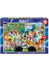 Puzzle 1000 Il Meraviglioso Mondo Della Disney 2
