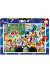 Puzzle 1000 Monde Merveilleux de Disney II