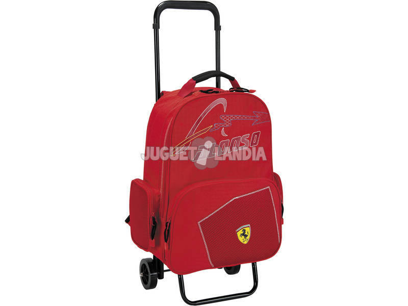 Sac à dos Adaptable avec Roues Ferrari Alonso