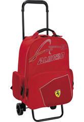 Mochila Adaptable con Ruedas Ferrari Alonso
