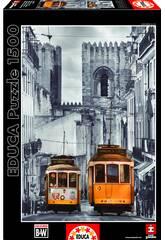 Puzzle 1500 Quartier de l'Alfama à Lisbonne Educa 16311