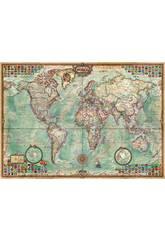 Puzzle 1500 El Mundo, Mapa Politico