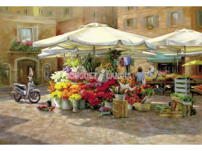 Puzzle 1500 Mercado de Flores