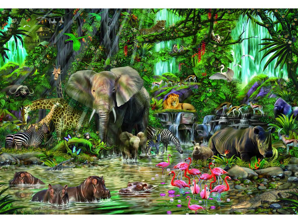 Puzzle 2000 Selva Africana