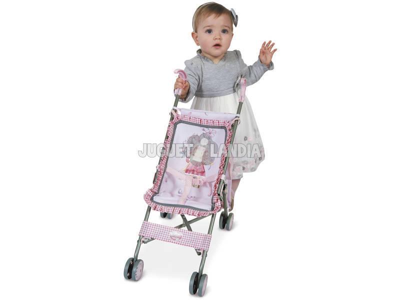 Cadeira de Boneca Dobrável com Bolsa Convertível Maria