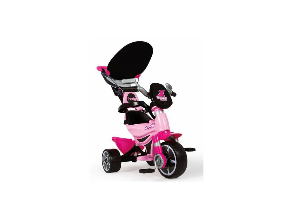 Triciclo de corpo inteiro rosa