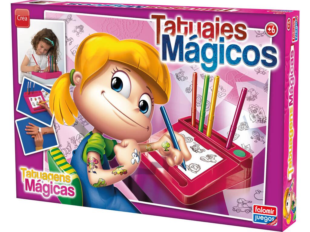 Tatuajes Mágicos Rosa Falomir 11532
