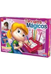 Tatouages Magiques Rose