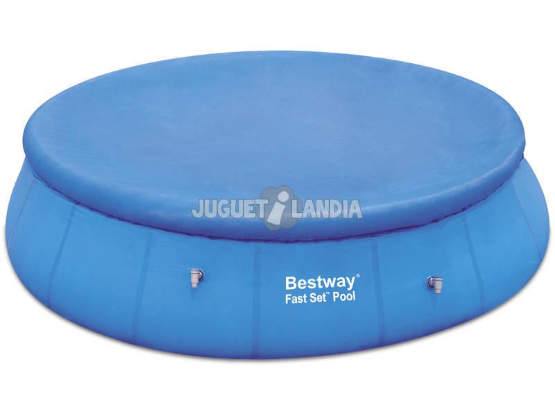 cubre piscina fast set 585 cm bestway 58073 juguetilandia