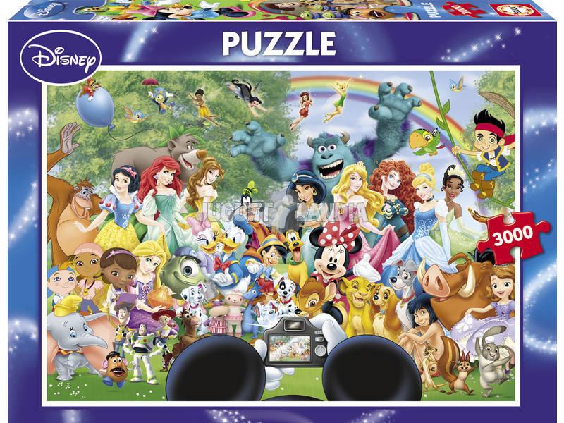 Puzzle 3000 El Maravilloso Mundo de Disney II