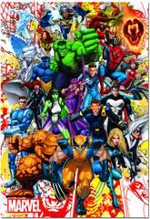 Puzzle 500 Eroi Marvel