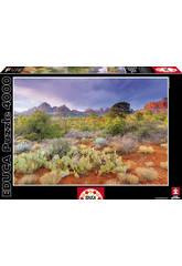 Puzzle 4000 Atardecer en Red Rock, Arizona