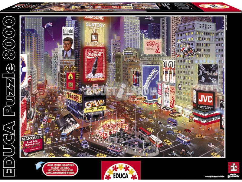 Puzzle 8000 Times Square, Nueva York
