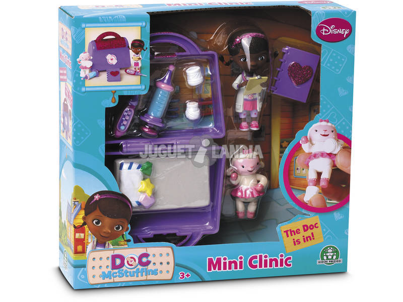 Doctora Juguetes Mini Playset Maletin