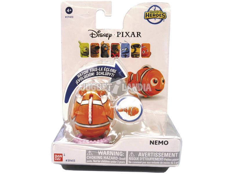 Hatch N Héroes Disney Pixar Bandai 39410