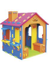 Maison gante mousse 79x79x125 cm
