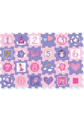 Set Eva Suelo Princesas 24 Piezas