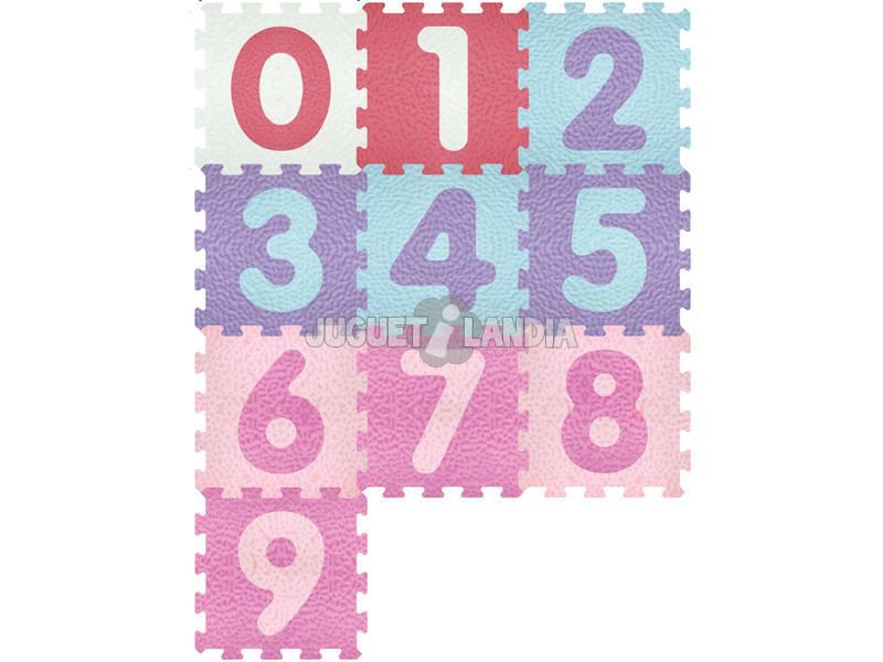 Set Eva Suelo Números