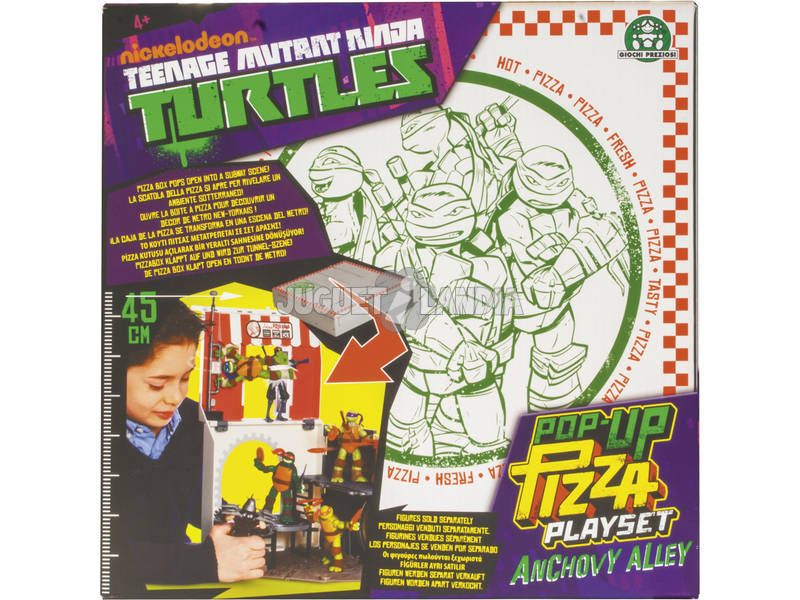 Tortugas Ninja Pop Up Pizza Playset