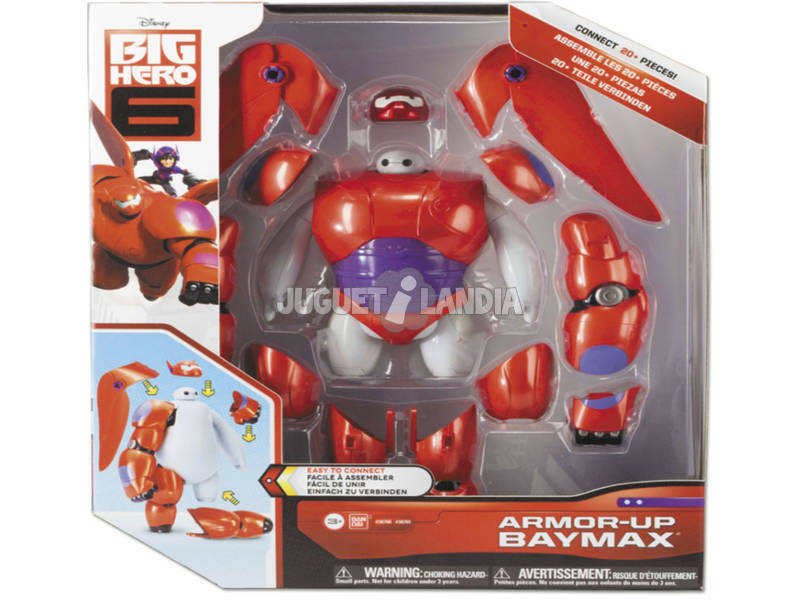 Big Hero 6 Baymax Transformacion Armadura