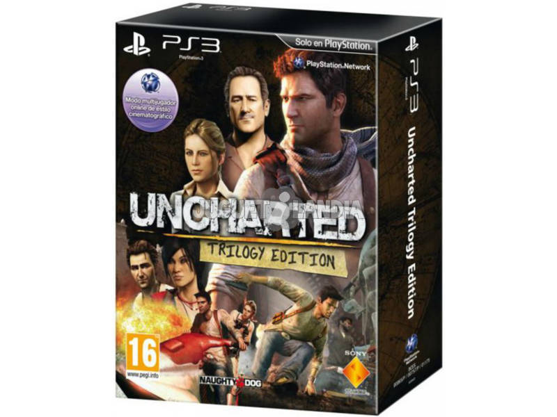 PS3 Uncharted trilogia