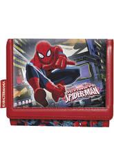 Spiderman Billetera Velcro