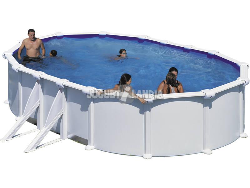 Piscina Ovalada Atlantis 610x375x132 cm. Gre KITPROV618