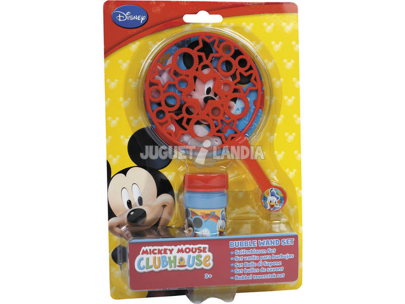 Mickey Varita de Pompas de Jabón