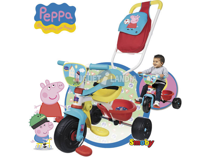 Triciclo Be Move Confort Peppa Pig
