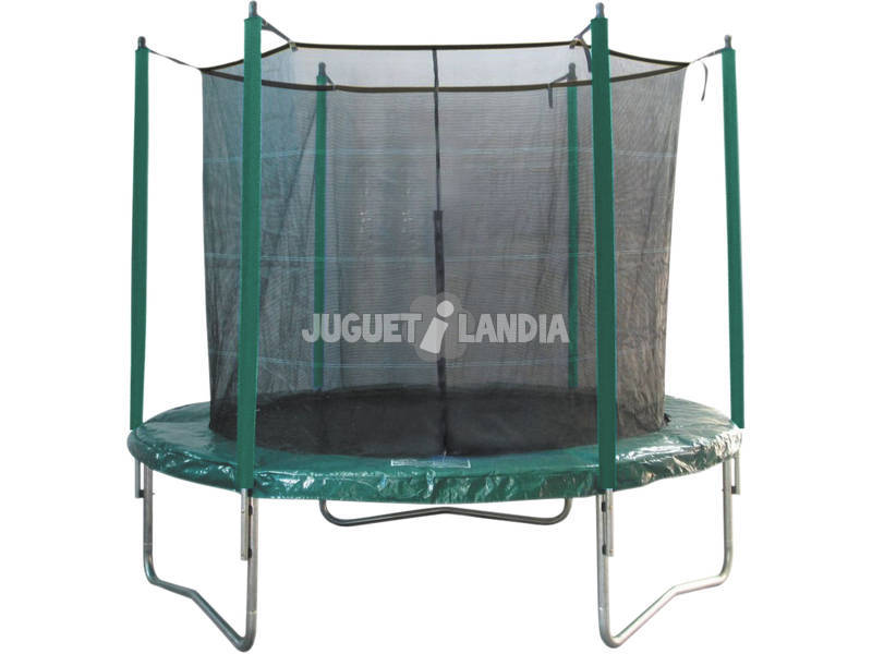 acheter trampoline elastique de 396 cm x 260 cm avec filet juguetilandia. Black Bedroom Furniture Sets. Home Design Ideas