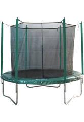 Trampoline ´>Elastique de 396 cm Ø x 260 cm Avec Filet