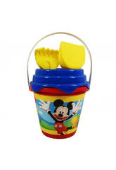 Cubo 18 cm. Ø Castillo Mickey y Minnie