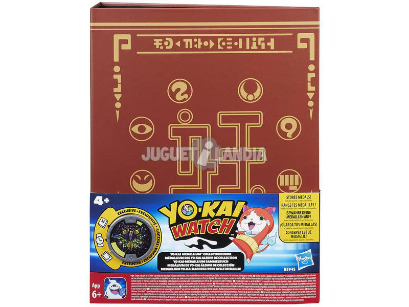 Yokai Watch Álbum Coleção Medallium