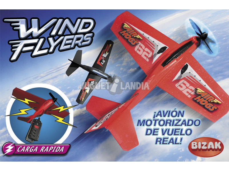 Air Hogs Wind Flyers.Bizak 6192 4405