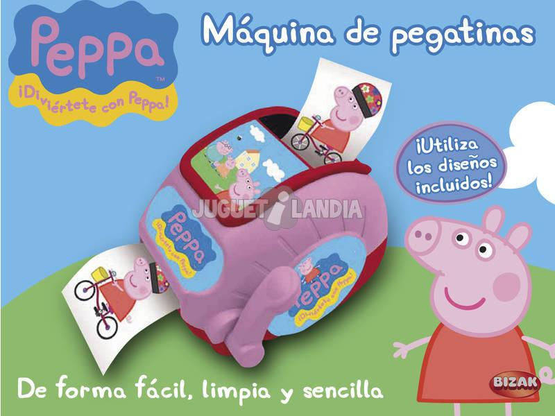Peppa Pig maquina de pegatinas
