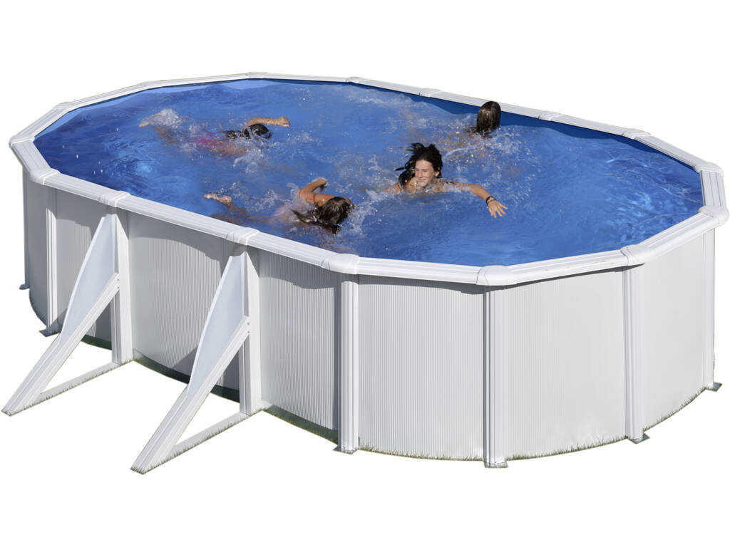 Piscina Oval Fidji 500x300x120 Cm Gre KIT500ECO