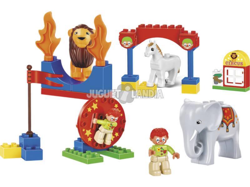 Bloques Construccion Circo 36 piezas