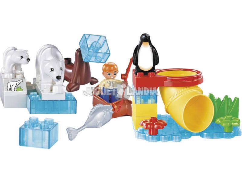 Bloques Construccion Happy Zoo 27 piezas