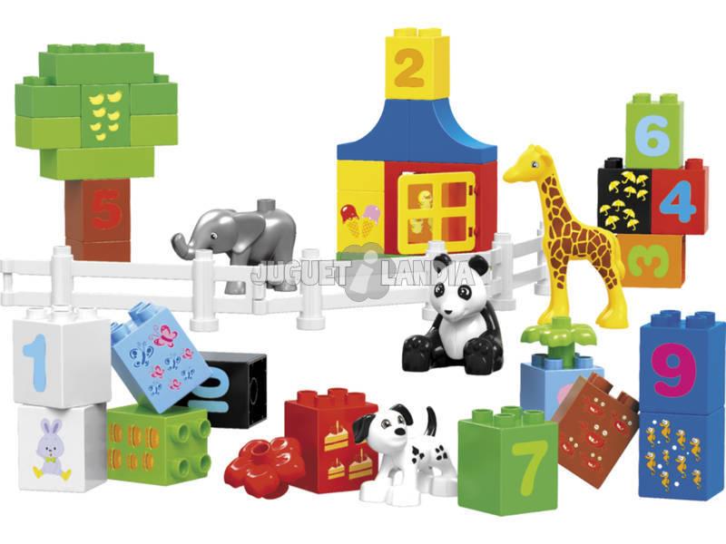 Blocos Construção Zoo 42 peças
