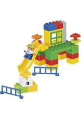 Cubo Bloques Construccion 75 piezas