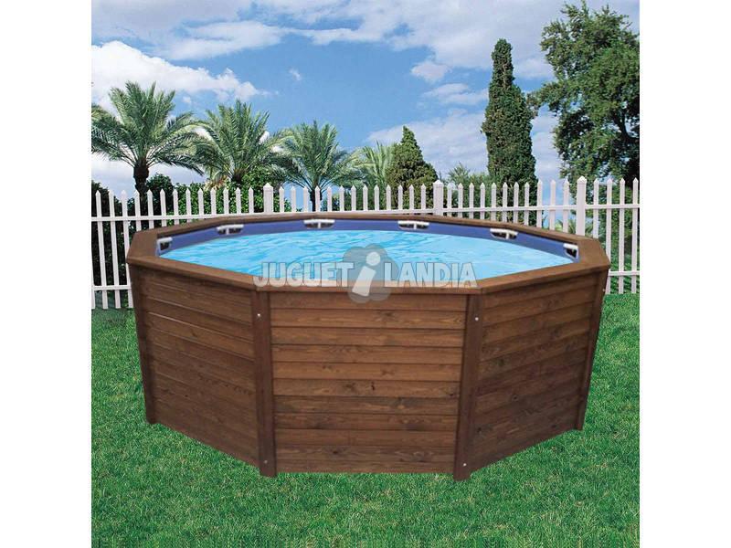 Piscina madera con depuradora arena k2o 315x105 cm bestway for Piscinas rectangulares desmontables con depuradora