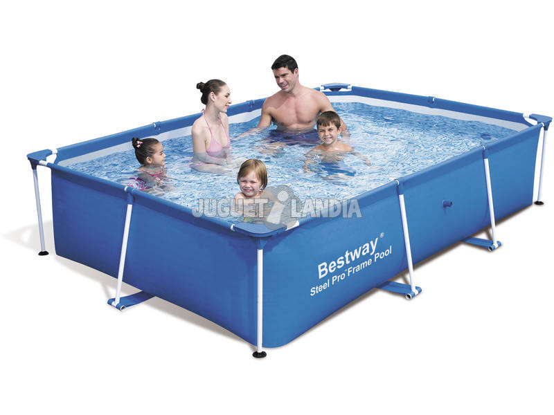 Piscina desmontable 259x170x61cm bestway 56042 juguetilandia for Bestway piscine catalogo