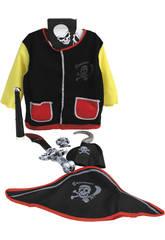Disfraz Niños Pirata Con Accesorios