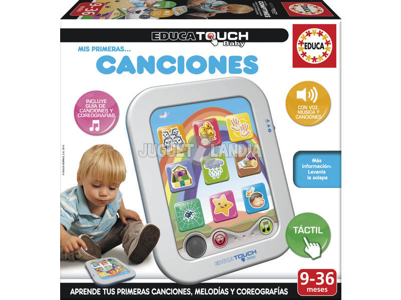 Educa Touch Baby Mes Premières Chansons